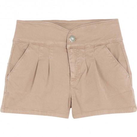 Piaskowe szorty dla dziewczynki Liu Jo 004309 - ubrania dla nastolatek - sklep internetowy euroyoung.pl