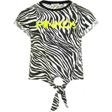Bluzka dziewczęca animal print Pinko Up 004322 - ubrania dla nastolatek - sklep internetowy euroyoung.pl