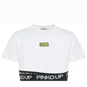 Crop top dla dziewczynki Pinko Up 004327 - ubrania dla nastolatków - sklep internetowy euroyoung.pl