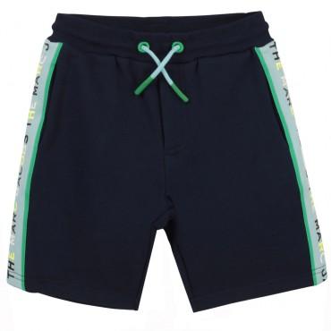 Bawełniane szorty dla chłopca Marc Jacobs 004334 - ubrania dla dzieci - sklep internetowy