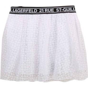 Spódniczka dla dziewczynki Karl Lagerfeld 004340 - ubrania dla dzieci - sklep internetowy euroyoung.pl
