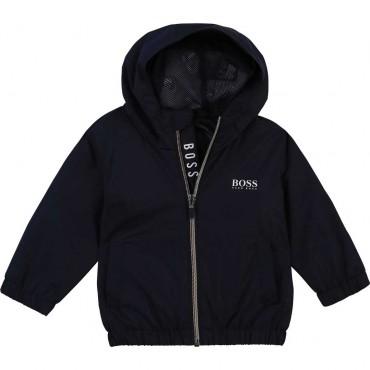 Letnia kurtka niemowlęca Hugo Boss 004348 - ubranka dla niemowląt - sklep internetowy