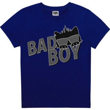 T-shirt chłopięcy Karl Lagerfeld 004341 - ubrania dla dzieci - sklep internetowy euroyoung.pl