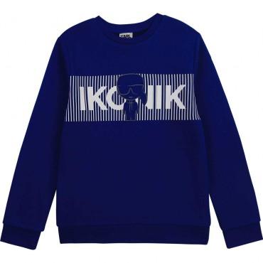 Bluza dla chłopca Ikonik Karl Lagerfeld 004358 - ubrania dla dzieci - sklep  internetowy euroyoung.pl