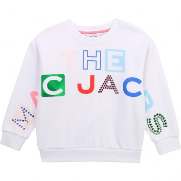 Dziecięca bluza z nadrukiem The Marc jacobs 004363 - bluzy dla dzieci - sklep internetowy euroyoung.pl