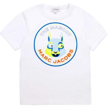 Ekologiczny t-shirt chłopięcy Marc Jacobs 004364 - ubranka dzieciece i niemowlęce - internetowy sklep dla dzieci euroyoung.pl
