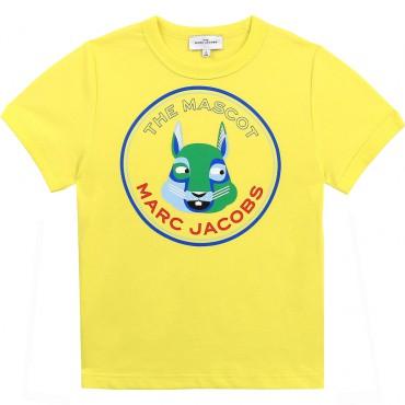 T-shirt chłopięcy The Mascot Marc Jacobs 004366 - ubrania dla dzieci - sklep internetowy euroyoung.pl