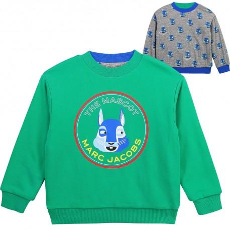 Dwustronna bluza chłopięca The Marc Jacobs 004367 - oryginalne ubrania dla dzieci i niemowląt - sklep internetowy euroyoung.pl