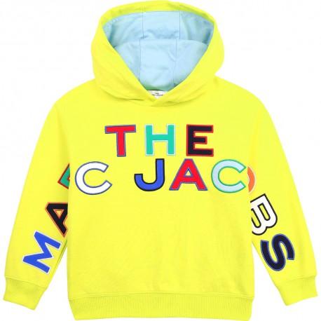 Chłopięca bluza z kapturem The Marc Jacobs 004368 - ubrania dla chłopców - odzież dziecięca - sklep internetowy euroyoung.pl