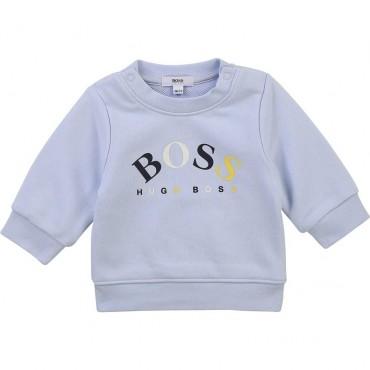 Jasnoniebieska bluza niemowlęca Hugo Boss 004377