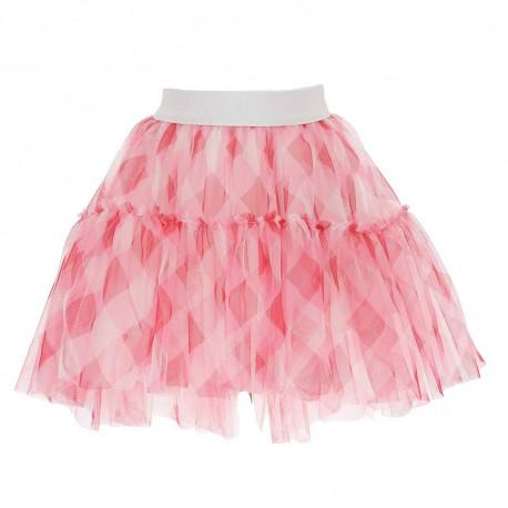 Tiulowa spódnica dla dziewczynki Monnalisa 004409 - stylowe ubrania dla dzieci i niemowląt - sklep internetowy euroyoung.pl