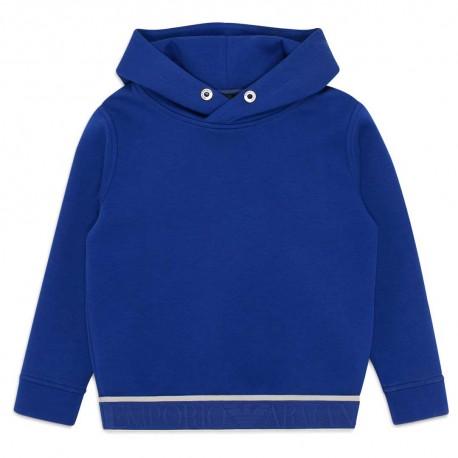 Chłopięca bluza z kapturem Emporio Armani 004413 - ubrania dla dzieci i niemowląt - sklep internetowy euroyoung.pl