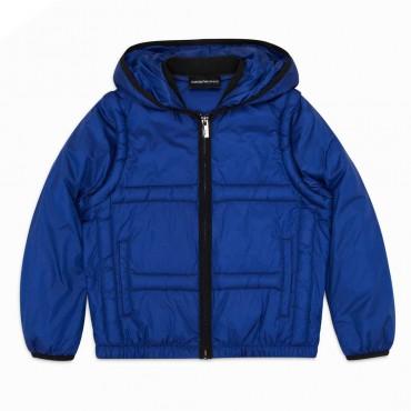 Przejściowa kurtka chłopięca Emporio Armani 004415 - ubrania dla dzieci i niemowląt - internetowy sklep euroyoung.pl