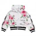 Dziewczęca bluza w kwiaty Monnalisa 004421