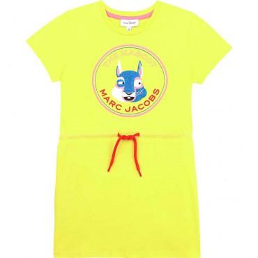 Sukienka dla dziewczynki The Marc Jacobs 004436 - ubrania dla dzieci