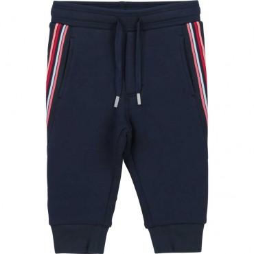 Spodnie dla małego chłopca Hugo Boss 004443 - ubranka dla niemowląt