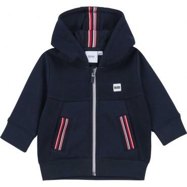 Bluza dla małego chłopca Hugo Boss 004444 - ubranka niemowlęce