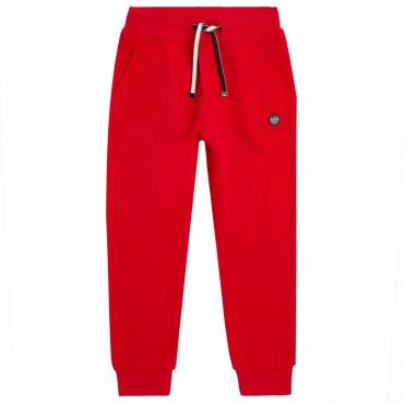 Czerwone spodnie chłopięce Emporio Armani 004449