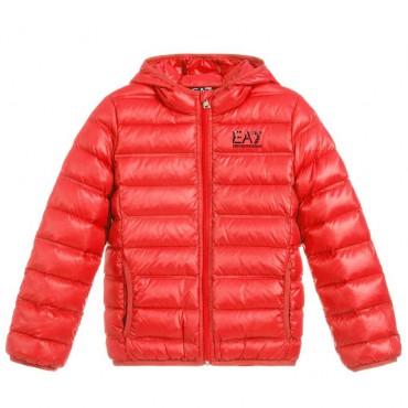 Przejściowa kurtka dla chłopca EA7 004459 - odzież dla dzieci