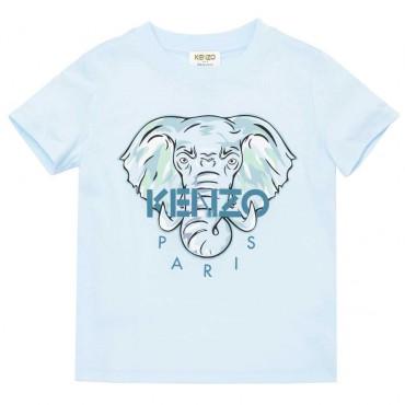 Ekologiczny t-shirt dla chłopca Kenzo 004486