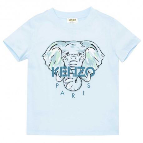 Ekologiczny t-shirt dla chłopca Kenzo 004486 - ekskluzywne ubrania dla dzieci z bawełny organicznej