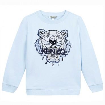 Niebieska bluza dla dziecka Tiger Kenzo 004494 - ubrania dziecięce - sklep internetowy