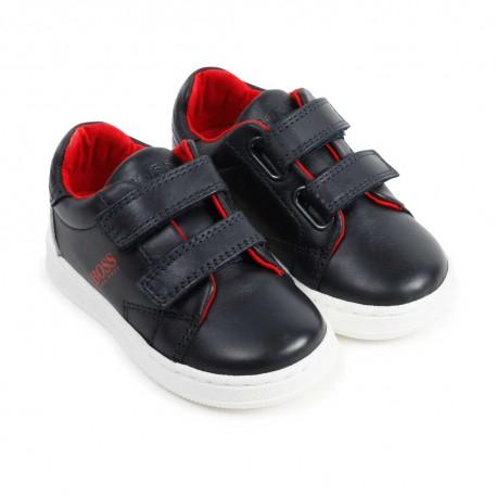 Sneakersy chłopięce Hugo Boss 004517 - markwe obuwie dla dzieci - sklep internetowy