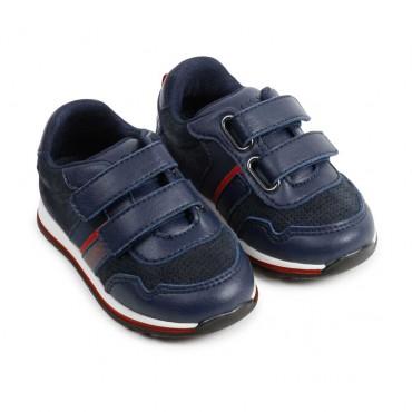 Skórzane sneakersy dla dziecka Hugo Boss 004519