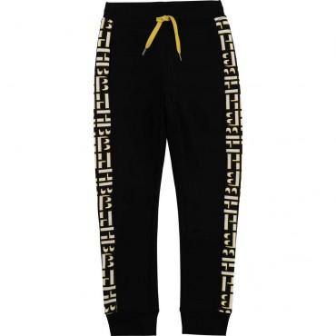 Spodnie treningowe dla chłopca Hugo Boss 004521 - ubrania dla dzieci - sklep internetowy
