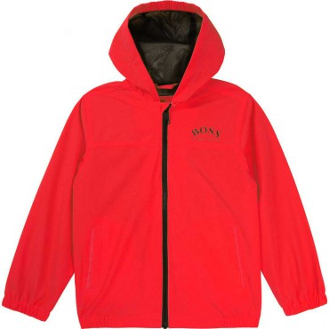 Letnia kurtka dla chłopca Hugo Boss 004528 - stylowe ubrania dla dzieci