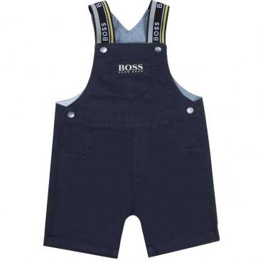 Ogrodniczki niemowlęce Hugo Boss 004532 - ubranka dla niemowląt - sklep internetowy