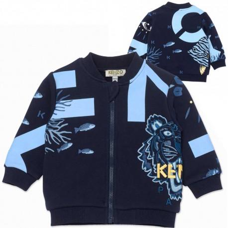 Bluza niemowlęca z nadrukiem Kenzo 004536 - ubranka dla maluchów - sklep internetowy
