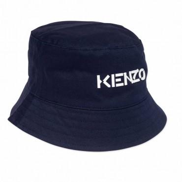 Granatowy kapelusz dla dziecka Kenzo 004538 - czapki dla dzieci - sklep internetowy