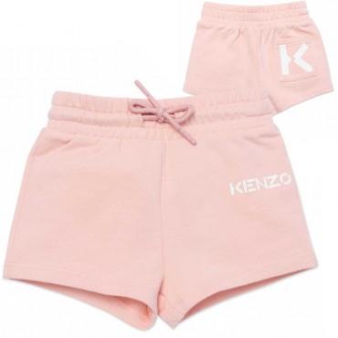 Szorty niemowlęce dla dziewczynki Kenzo 004541