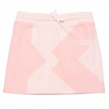 Bawełniane spódnice dla dziewczynek Kenzo 004544 - oryginalne ubrania dla dzieci - sklep internetowy