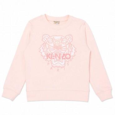 Bluza z tygrysem dla dziewczynki Kenzo 004545