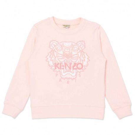 Bluzy z tygrysem dla dziewczynek Kenzo 004545 - markowa odzież dla dzieci - sklep internetowy