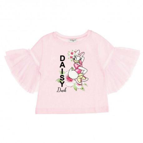 Bluzka dziewczęca z Daisy Monnalisa 004548 - ubranka dla dzieci - sklep internetowy