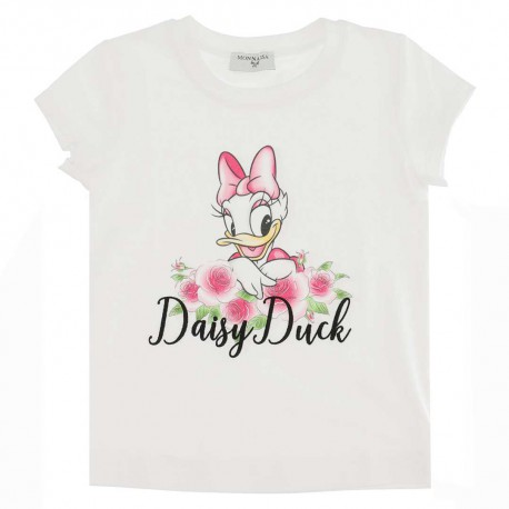 Bajkowa koszulka dla dziecka Monnalisa 004549 - stylowe ubranka dla dziewczynek - sklep internetowy