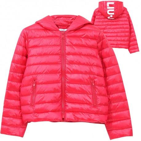 Kurtka z kapturem dla dziewczyny Liu Jo 004553 - oryginalne ubrania młodzieżowe - sklep internetowy