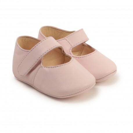 Buciki niemowlęce dla dziewczynki Hugo Boss 004560 - elegancka wyprawka dla noworodka - sklep internetowy
