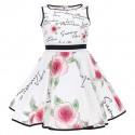 Rozkloszowana sukienka dziewczęca Monnalisa 004578