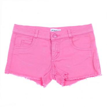 Różowe szorty dla dziewczynki Pinko Up 004469 - ekskluzywne ubrania młodzieżowe - sklep internetowy