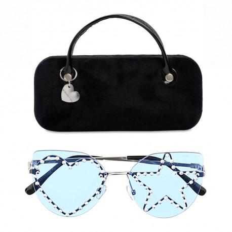 Modne okulary przeciwsłoneczne dla dziewczynki marki Monnalisa 004584 - sklep internetowy z ubraniami dla dzieci euroyoung.pl