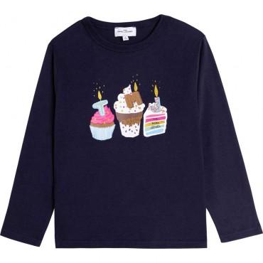 Dziewczęca koszulka The Marc Jacobs 004610 - odzież dla dzieci - sklep internetowy euroyoung.pl