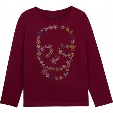 Bluzka dla dziewczynki Zadig&Voltaire 004614 - ekskluzywne ubrania młodzieżowe - sklep internetowy euroyoung.pl