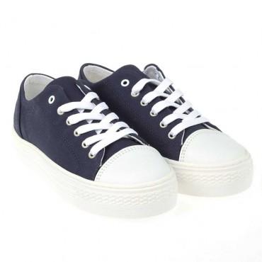 Buty sportowe dla dziecka ARMANI JUNIOR 000183 - ekskluzywne obuwie dla dziewczynek - sklep internetowy euroyoung.pl