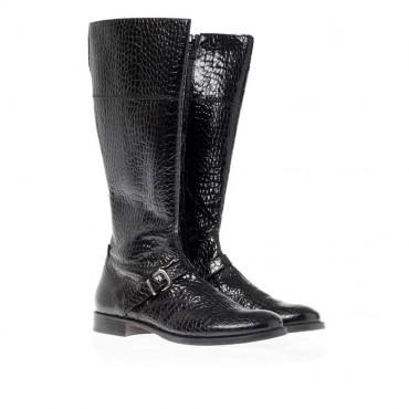 Kozaki dla dziewczynki Gallucci 5149 - czarne buty dla dzieci i młodzieży - sklep internetowy euroyoung.pl