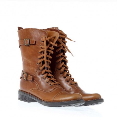 Brązowe oficerki dla dziewczynki Missouri 81255 - jesienne buty dla dzieci - sklep internetowy euroyoung.pl
