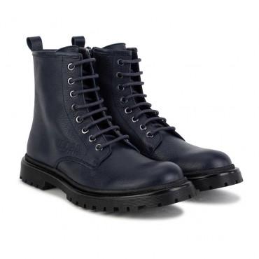 Granatowe botki dla dziewczynki Hugo Boss 004622 -ekskluzywne buty dla dzieci - sklep internetowy euroyoung.pl